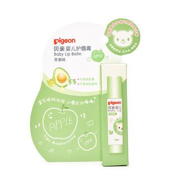 贝亲婴儿护唇膏3g(苹果味)深入滋养,缓解干燥 IA160