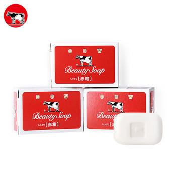 日本进口牛乳石硷美肤香皂(两种规格可选)3入