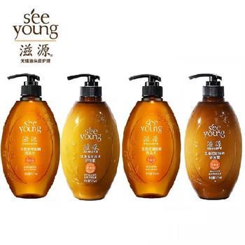 滋源无硅油生姜强根健发洗发水控油改善毛躁持久留香洗发护发535ML