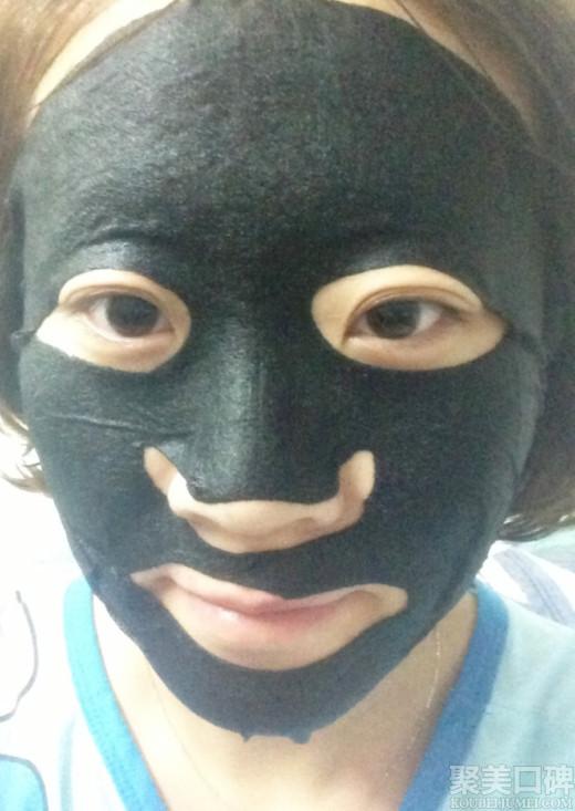 黑面膜使用步骤