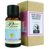 纯净农庄(Pure Farm)H014L玫瑰精油橙花精华油