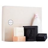 朵拉朵尚礼盒(竹炭皂,甜橙皂,玫瑰皂,皂托,打泡网)