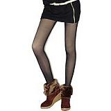 波司登绢感透肤美体双层九分裤
