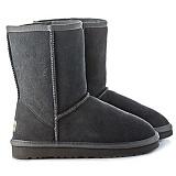 donessy中筒雪地靴 5825款(灰色)