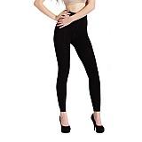 颖轩(MINOVEL)时尚纤体双层裤(黑色)