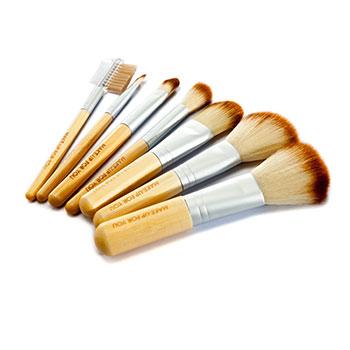聚美优品7支竹柄化妆刷