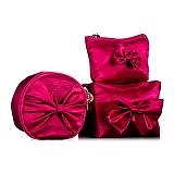 AVRIL MONG 爱梦高档化妆包系列之 —玫红经典三件套