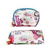 魅卡英伦风情系列化妆包2件套 859001859004