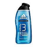 阿迪达斯 (Adidas)男士运动后舒缓2合1沐浴露 400ml