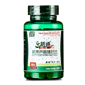 泰尔膳通苹果芦荟膳纤片 0.65g x 90片