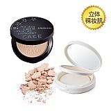 凯莉丝汀(KALISETIN)白+黑透滑粉饼套装JMYP-012(粉饼11g+粉饼11g)