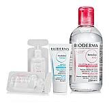 贝德玛 (Bioderma)舒妍洁肤水套装(洁肤液250ml+面膜15ml+洁肤液10ml+舒妍洁肤液10ml)