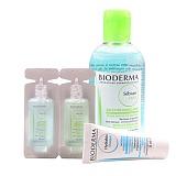 贝德玛 (Bioderma)净妍洁肤水套装(洁肤液250ml+面膜15ml+洁肤液10ml+洁肤液10ml)
