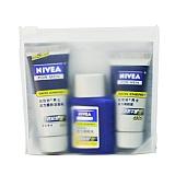 妮维雅(Nivea)男士活力体验装(活力劲肤露7g+活力劲肤水20ml+活力醒肤洁面乳15g)
