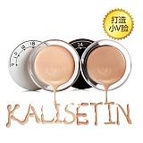 凯莉丝汀(KALISETIN)白+黑透滑粉底套装JMYP-011(粉底10g+粉底10g)  甄选版