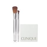 倩碧 (Clinique)双色眼影(pink slate duo )0.5g*2 +双色腮红(sunkissed+new clover)1.8g*2+刷子