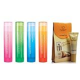 卡姿兰(Carslan)温泉SPA护唇膏4.5g/蜗牛修护美肌BB霜5ml(两款随机)