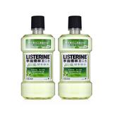 李施德林(Listerine)漱口水(绿茶口味)(双包装)500ml