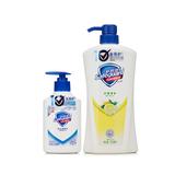 舒肤佳(Safeguard)柠檬清新型沐浴露720ml+纯白清香型洗手液250ml