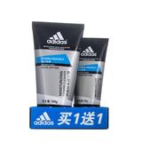 阿迪达斯 (Adidas)男士活力保湿泡沫洁面乳套装 100g+50g