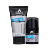 阿迪达斯 (Adidas)男士活力保湿护肤套装 50g+100g(新老包装随机发送)