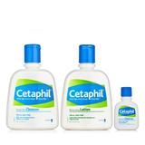 丝塔芙 (Cetaphil)洁面乳237ml+保湿润肤乳237ml 赠(洁面乳29ml)