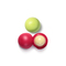 伊欧诗(EOS)花朵礼盒套装(石榴覆盆子润唇球7g/个+金银花蜜瓜润唇球7g/个)