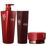 沙宣(VS)修护水养洗发露750ml+润发乳400ml+发质重塑发膜150ml