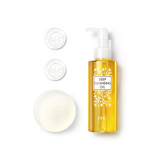 蝶翠诗 (DHC)深层清洁组合4件套(橄榄卸妆油120mL+橄榄芦荟皂80g+橄榄蜂蜜滋养皂5g*2)