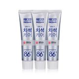韩国•麦迪安(Median)86牙膏白色亮白版3支装
