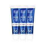 韩国•麦迪安(Median)86牙膏蓝色清新版3支装