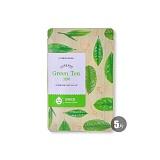 伊蒂之屋(etudehouse)呵护美肌面膜20ml*5绿茶