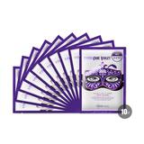 可莱丝(MEDIHEAL)紫色假面舞会面膜贴(附赠扇子)