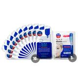 可莱丝(MEDIHEAL)NMF水库修复凝胶眼膜5对/盒+可莱丝(MEDIHEAL)保湿水库针剂面膜贴10片