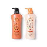 嘉娜宝Kracie ICHIKAMI山茶花纯和草洗发护发套装新版530ml*2