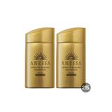 安耐晒(ANESSA)黄金水钻防晒 60ml 套组 2017新版(两支)